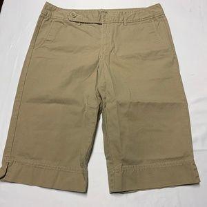 Eddie Bauer Size 12T Brown Bermuda Shorts